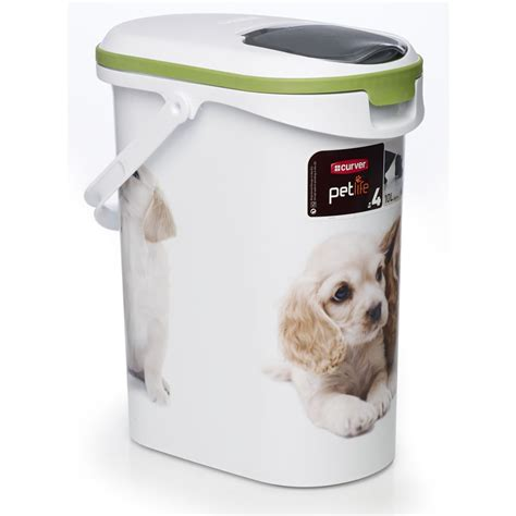 food bin curver pet pet food container 10l at wilko