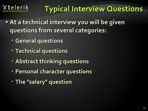 Typical Mba Questions Tech by Typical Questions At A