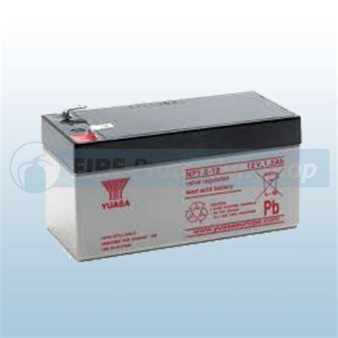 Batery Ups Yuasa Np 1 2 12 yuasa np1 2 12 12v 1 2ah sealed lead acid battey