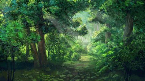 sunlight forest green everlasting summer sun rays