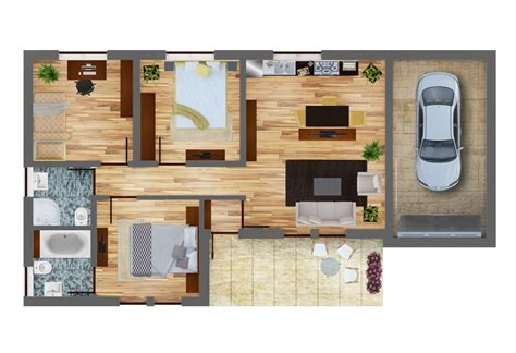 economy house plans economic house plan bc 12 113m2