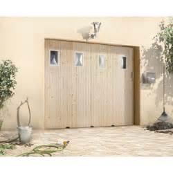 porte de garage coulissante avec hublot primo h 200 x l