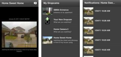 dropcam android app dropcam android app monitor your security system on the move product reviews net