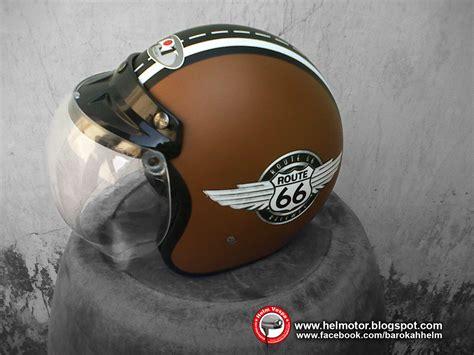 Sale Helm Bogo Vespa White Retro Black Pink helm bogo retro route 66 helm vespa