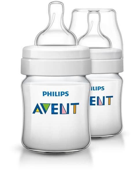 philips avent feeding bottle classic plus 2 pack 125ml the baby factory