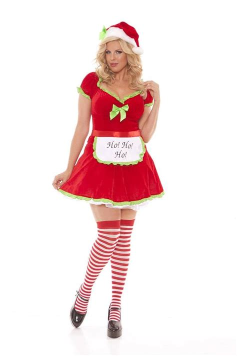 hot miss santa on pinterest moments ho ho helper mrs claus santa s light up costume ebay