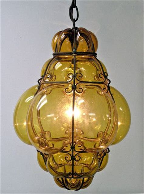 italian blown glass light fixtures 15 best images about hand blown glass hanging lights on