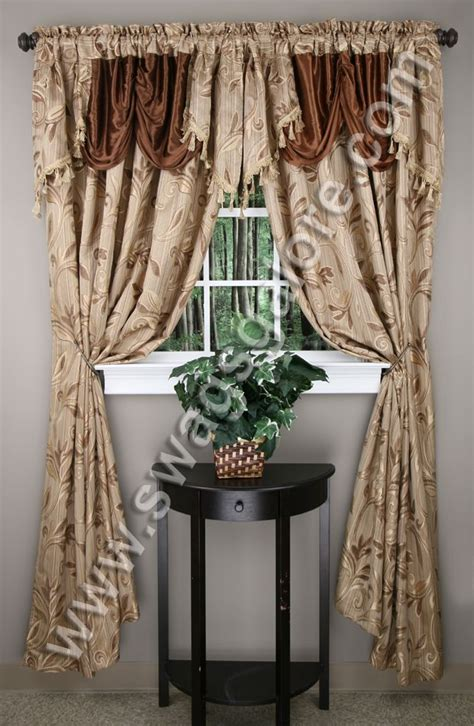 leaf pattern curtain rods 22 best embroidered curtains images on pinterest curtain