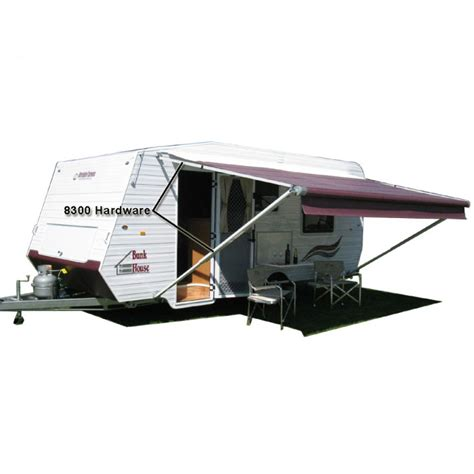 dometic 8300 sunchaser awning 16ft granite fabric on