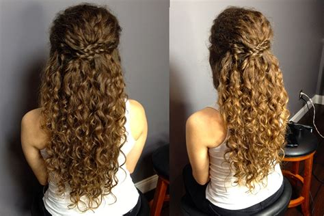 half up half down hairstyles for naturally curly hair half up half down updo for naturally curly hair easy