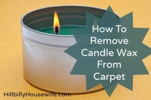 how to remove candle wax from a rug getting candle wax out of carpet frugal tip hillbilly