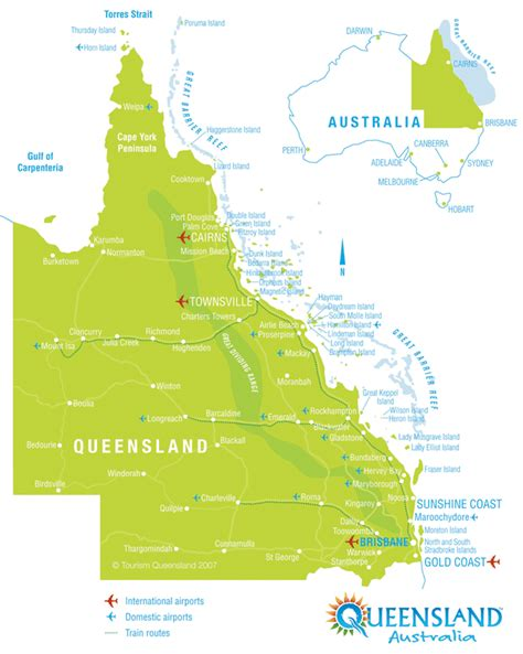 printable maps queensland queensland australia map my blog