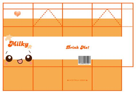 Milk Papercraft - orange by sweetmallacht on deviantart