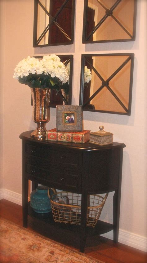 small foyer small foyer love the square mirrors home pinterest