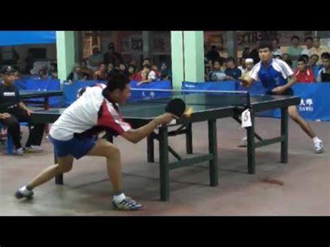 Tenis Meja Tenis Meja table tennis aka tenis meja medan husni af al tunggal putra
