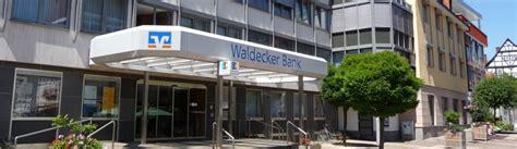 waldecker bank banking 220 bersicht gesch 228 ftsstellen waldecker bank eg
