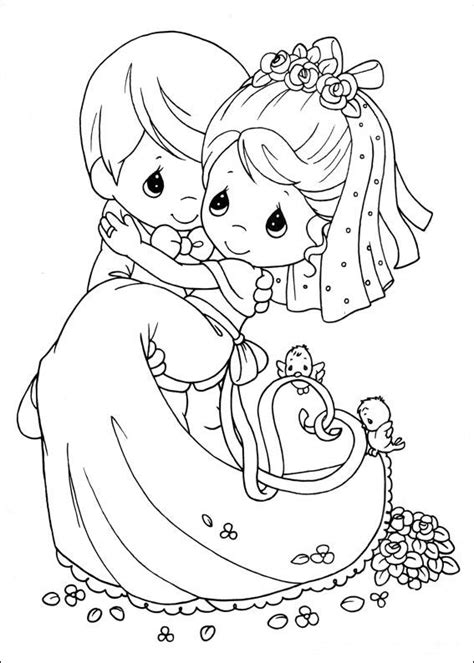coloring pages precious moments printable newlyweds precious moments coloring child coloring