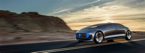 mercedes unveils  driving pollution  car  ces