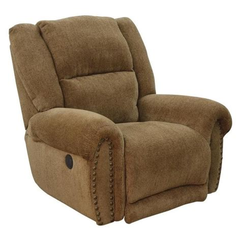 Recliners That Lay Flat by Catnapper Stafford Power Lay Flat Recliner In Caramel