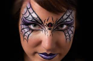 easy face paintings for halloween spider mask face paint goodtoknow