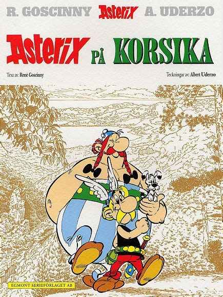 Asterix Asterix In Corsica ast 233 rix the collection the collection of the albums of