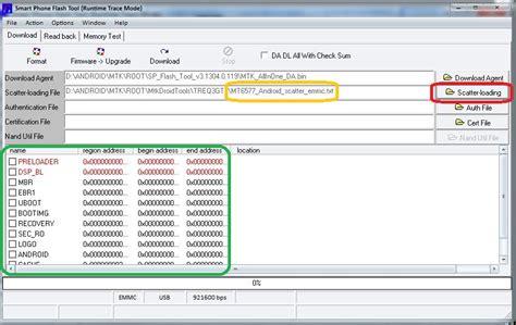 tutorial flash tool android tutorial rooting seluruh android dengan chipset mtk 65xx