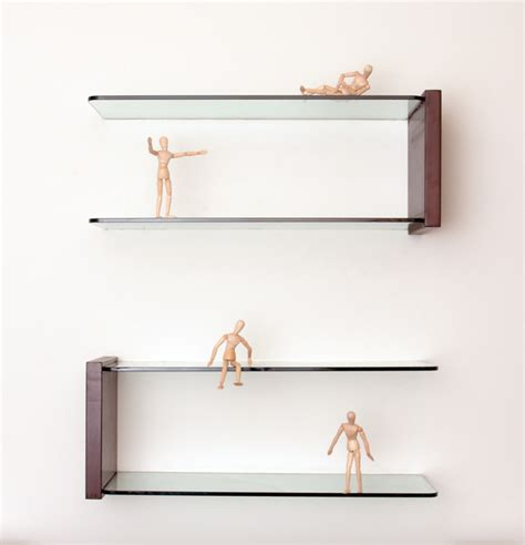 glass wall shelves home glass shelving