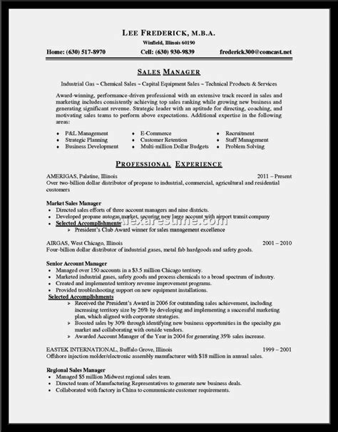 exle of a winning resume resume template cover letter