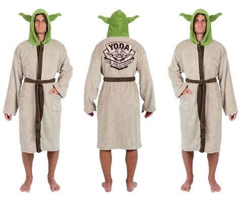 jedi fleece robe wars yoda the jedi master fleece robe