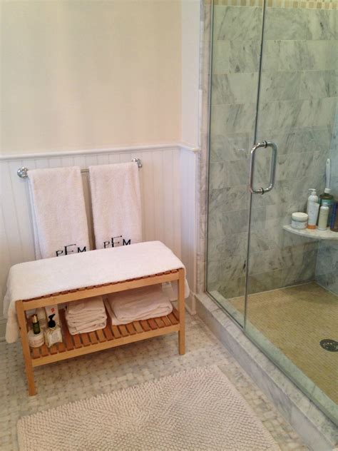 bathroom bench ideas how a ikea bathroom bench helped cure my skin