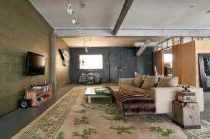 fabulous unfinished basement ideas decorating ideas images in living room industrial design ideas