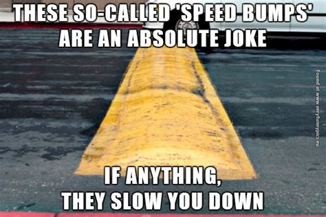 Speed Bump Meme - i call bullshit on speed bumps