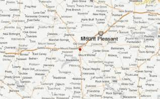 mt pleasant map mount pleasant location guide