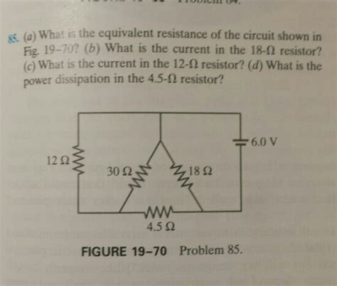 when the resistor r in fig 19 59 is what is the equivalent resistance of the circuit s chegg
