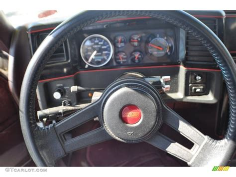 Monte Carlo Ss Steering 1988 Chevrolet Monte Carlo Ss Maroon Steering Wheel Photo 63177361 Gtcarlot