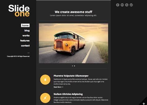 wordpress themes free left menu slide one one page parallax ajax wp theme by goodlayers