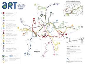 carolina map asheville transit maps