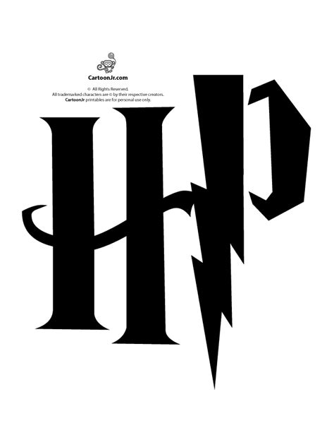 harry potter pumpkin carving templates harry potter hp logo pumpkin stencil woo jr