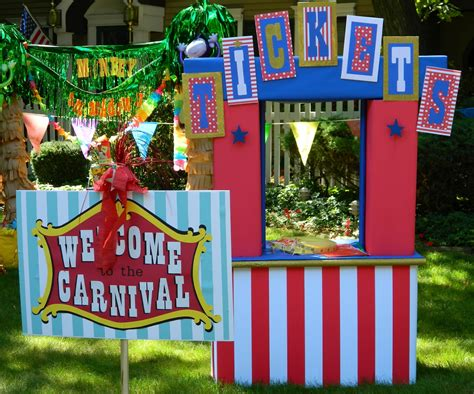 carnival booth themes halloween carnival booth ideas