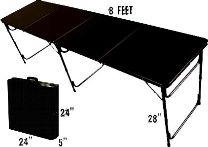 pong table official sizes dimensions pong