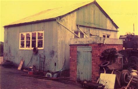Fillongley Garage by Fillongley History