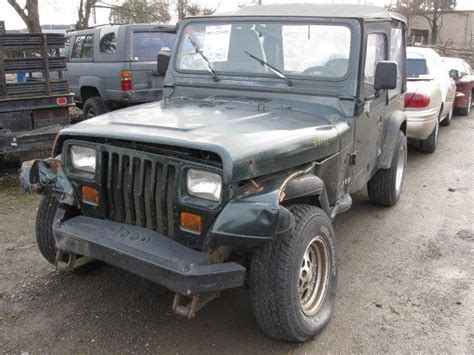 1994 Jeep Parts Used 1994 Jeep Wrangler Engine Accessories Wrangler Fuel