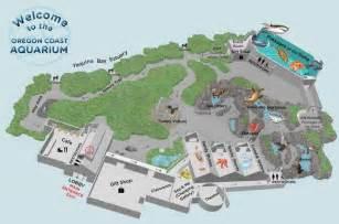 oregon coast aquarium map and pictures