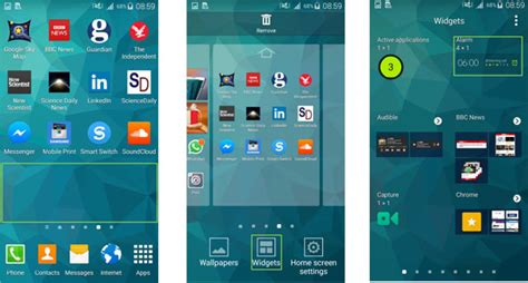 android add widget how to easily remove widgets from android phone
