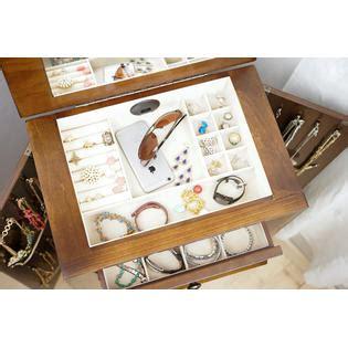 ashton jewelry armoire hives honey ashton walnut jewelry armoire