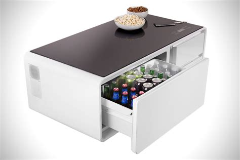 mini fridge coffee table sobro cooler coffee table hiconsumption