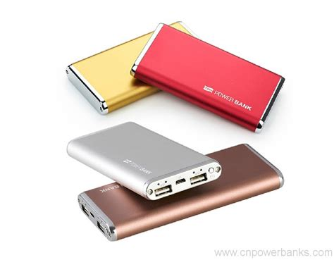 Usb Mobil 6000mah portable mobile universal usb ultra slim power