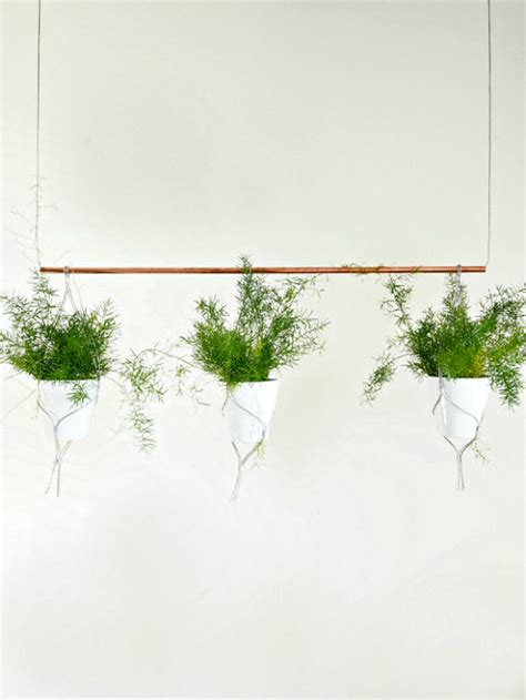hang it diy hanging planters the garden glove