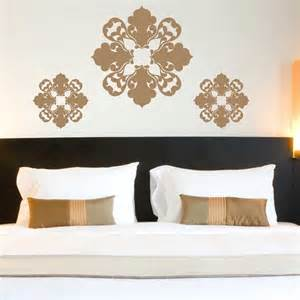 Moroccan Wall Stickers Exciting Moroccan Wall Decals Design On Bedroom Black