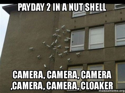 Pay Day Meme - cloaker payday 2 memes pictures to pin on pinterest